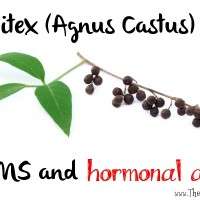 Vitex for PMS and hormonal acne